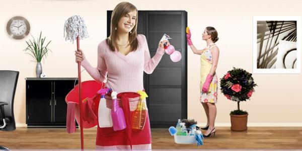 Уборка в большом доме. Кому ее поручить