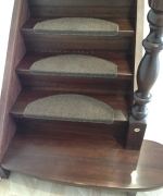 Деревянная лестница ПОСЛЕ
