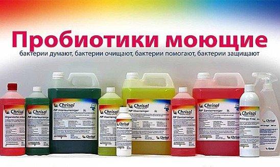 Принцип работы моющих пробиотиков