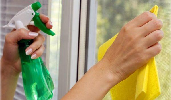 Как очистить стекло от краски