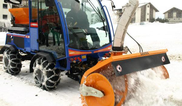 Виды снегоуборочных машин