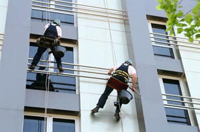 Особенности клининга фасадов